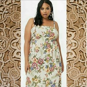 NWT Forever 21+ floral dress